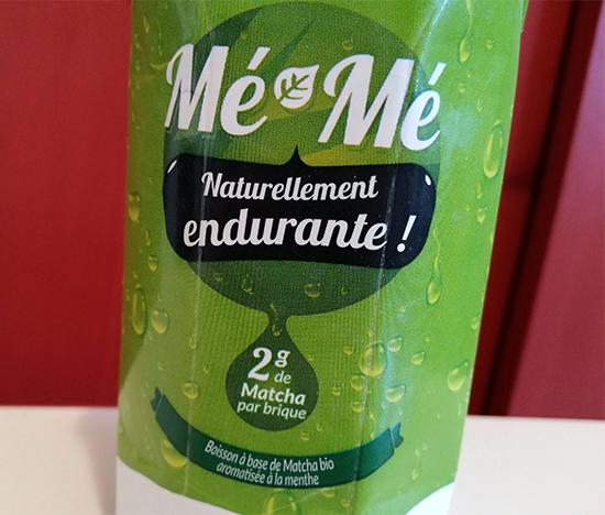 Les boissons Mé-Mé sont composées de thé matcha et très peu sucrées.