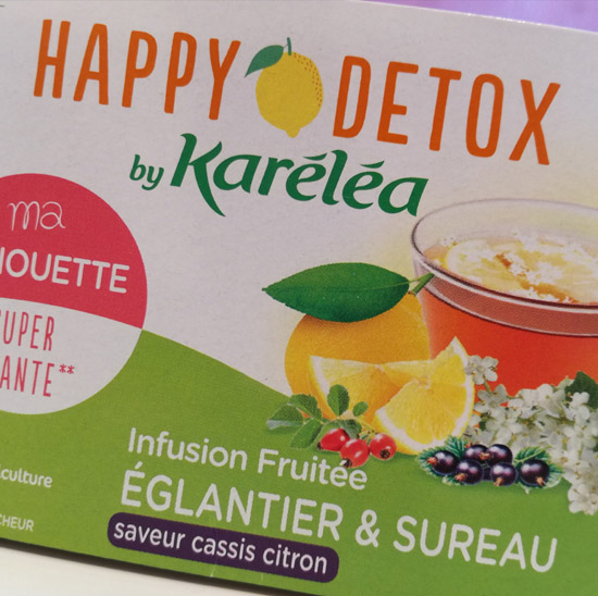 Karéléa, experte de la diététique naturelle, a créé une nouvelle gamme Happy Détox by Karéléa.