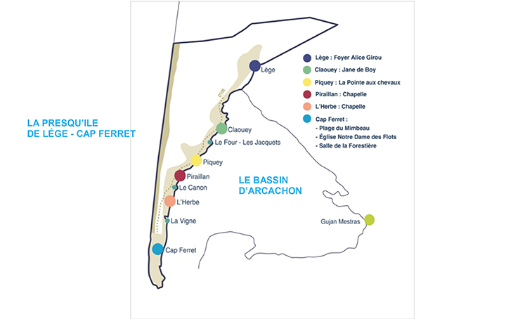 Plan du Cap Ferret