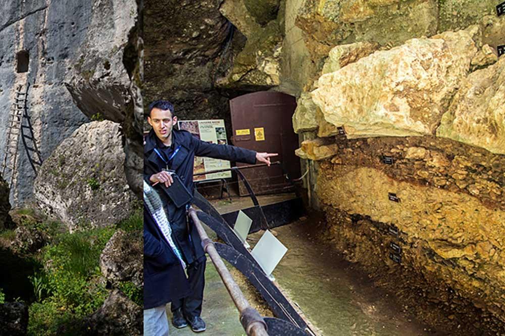 L'abri préhistorique de Laugerie Basse