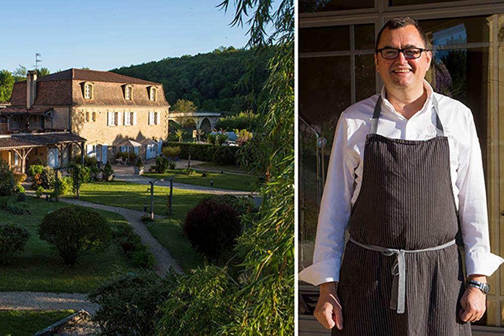 Hotel restaurant Les Glycines et son Chef