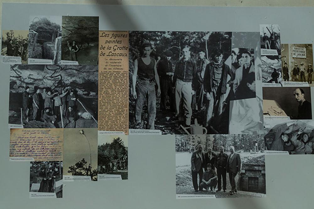 Découverte de la grotte de Lascaux : Marcel Ravidat, Georges Agniel, Simon Coencas et Jacques Marsal