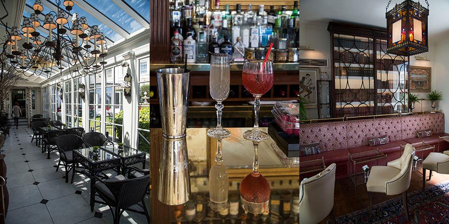 Le bar et la terrasse