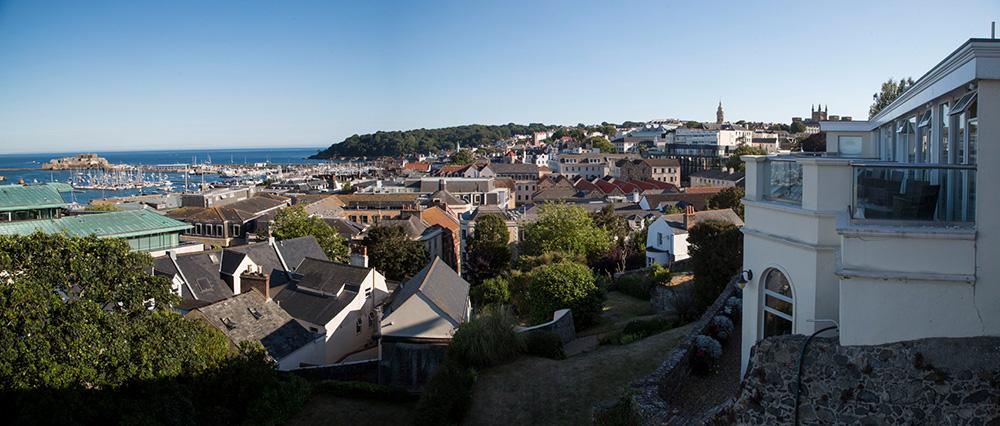 Vue panoramique sur Guernesey