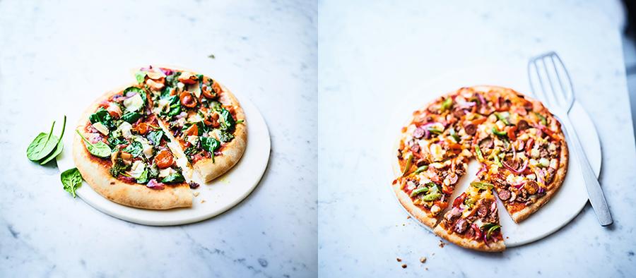 Pizza créatives