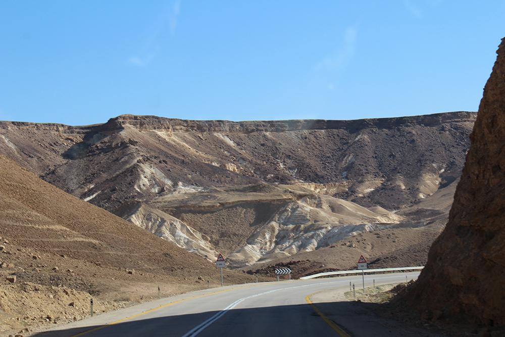Montagne dans le désert
