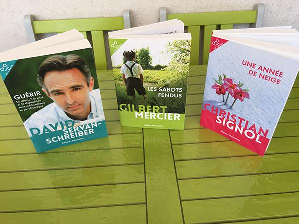 Trois nouveaux romans