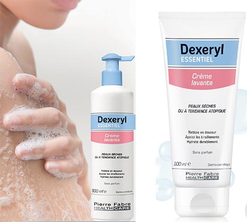 Dexeryl Essentiel crème lavante hydratante