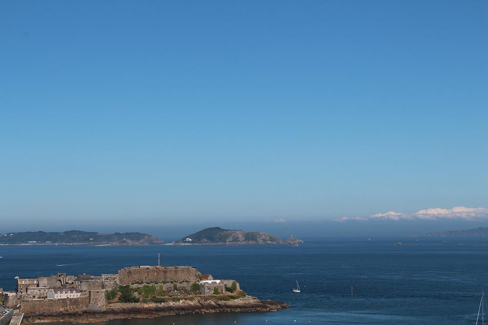 Vue mer de St Peter Port