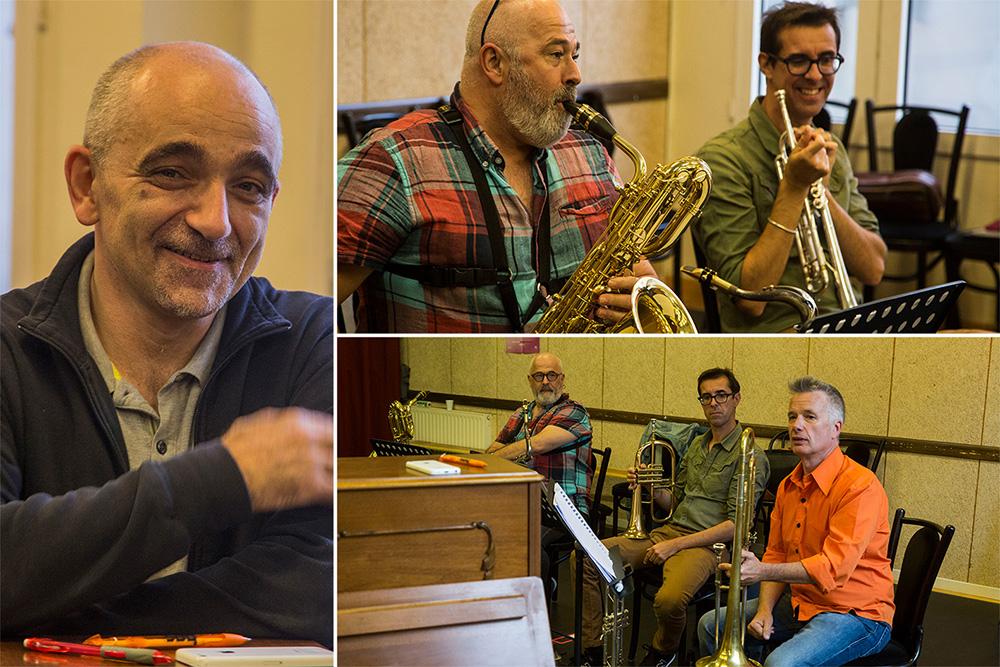 Dominique Trottein et ses musiciens
