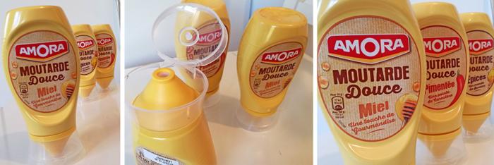 Au miel, aux épices ou pimentée, les trois nouvelles moutardes Amora permettent de nombreuses associations pour réveiller les repas du quotidien.