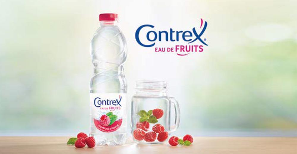 Eaux de fruits Contrex