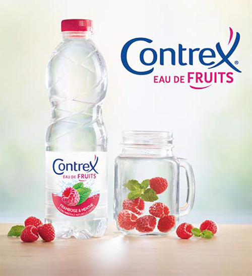 Eaux de fruits Contrex