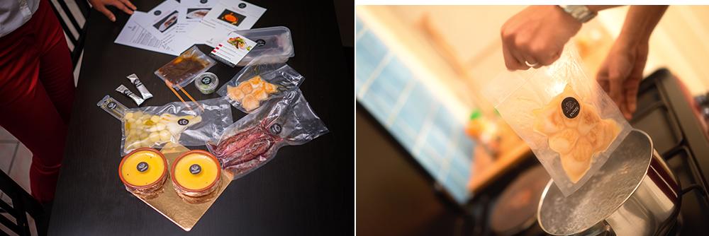L'Etoile des Gourmets : déballage des produits