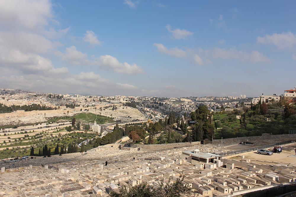 Jérusalem Mont des Oliviers