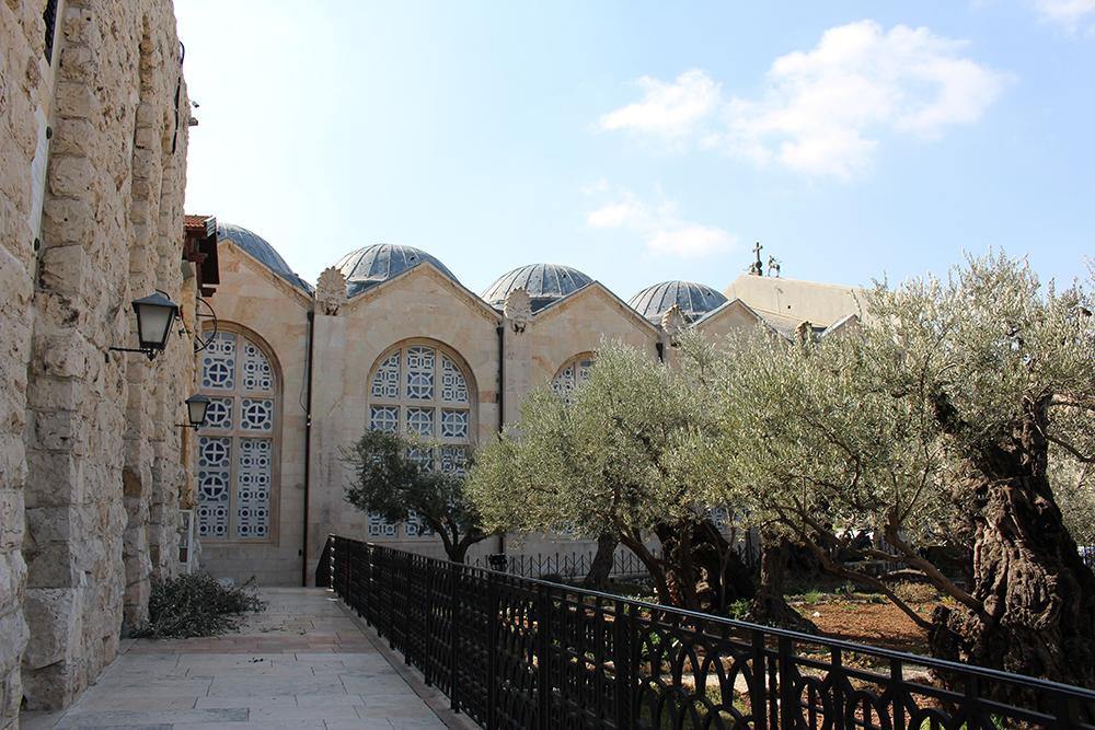 J rusalem ville sainte aux trois religions dynamic for Jardin olivier
