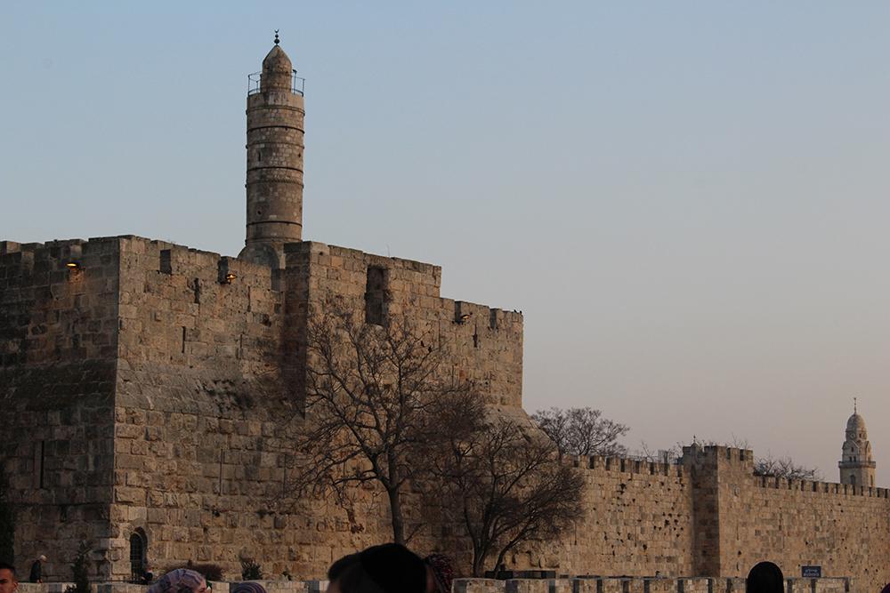 Les ramparts de Jérusalem