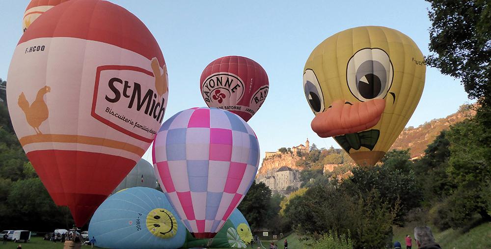 30 montgolfières prennent l'air tour à tour