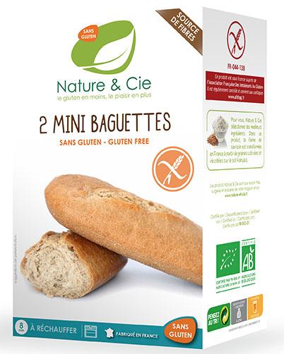  Mini-baguettes sans gluten