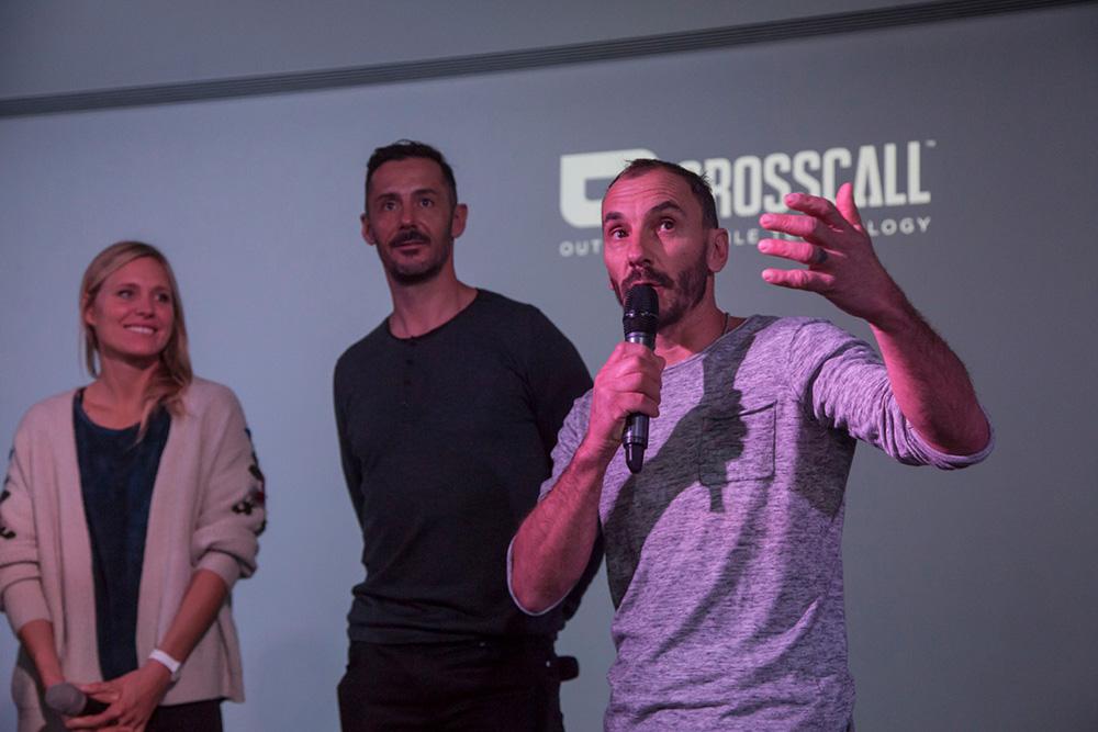 Anne-Flore Marxer (Montagne), Dédric Gracia (Vélo) et Jeff Mercier (Alpiniste)
