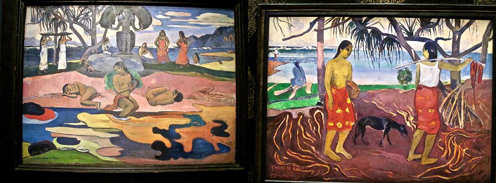 Toiles de Gauguin