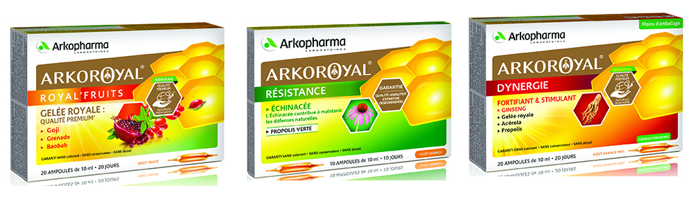 Arkoroyal : produits issus de la Ruche
