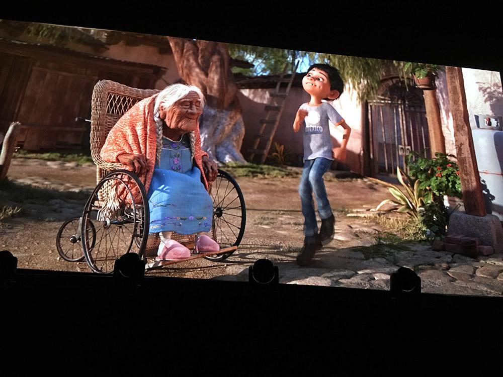 Miguel et sa grand-mère Coco