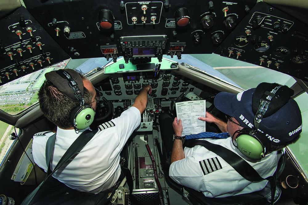 Breitling DC-3 - Cockpit
