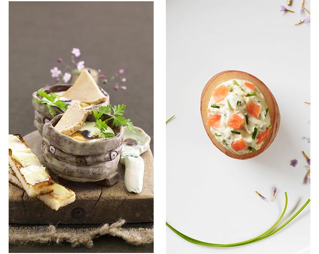 Repas de fête avec les produits Labeyrie…