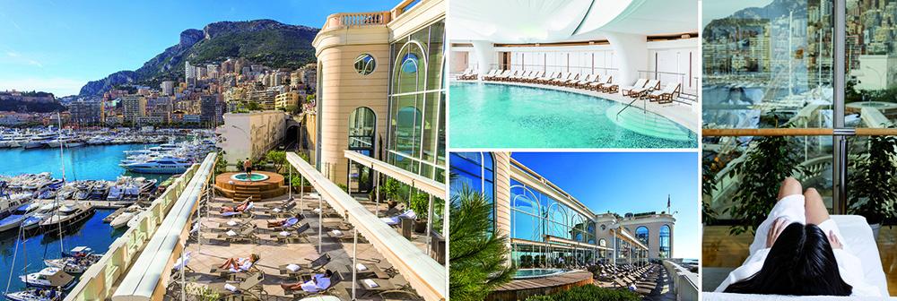 l'Hôtel Hermitage et les Thermes Marins de Monte-Carlo