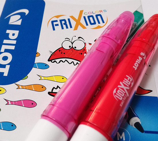 """Cette année, Pilot fête les dix ans de sa gamme FriXion. Pratiques et économiques, ces instruments d'écriture """"tout en un"""" ont révolutionné le marché…"""