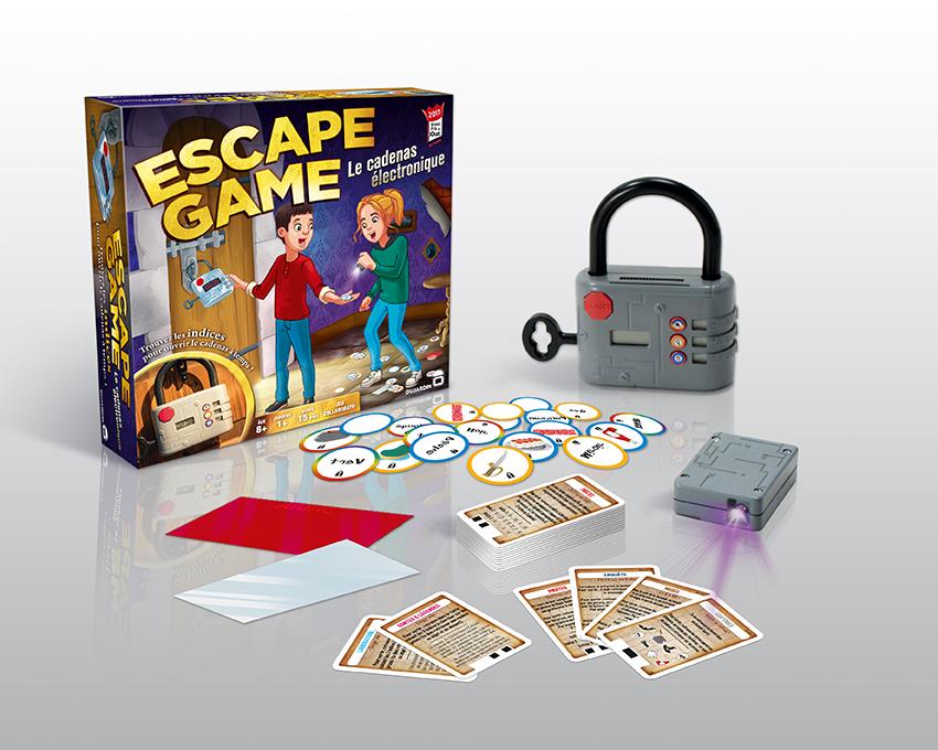 Escape Game : Le cadenas électronique