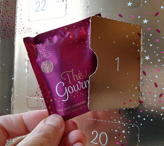 Le Calendrier de l'Avent Palais des Thés invite les amateurs de thé à (re)découvrir, chaque jour de décembre, un thé ou une infusion.