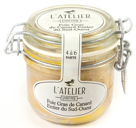 Foie Gras de Canard Entier du Sud-Ouest L'Atelier en boc