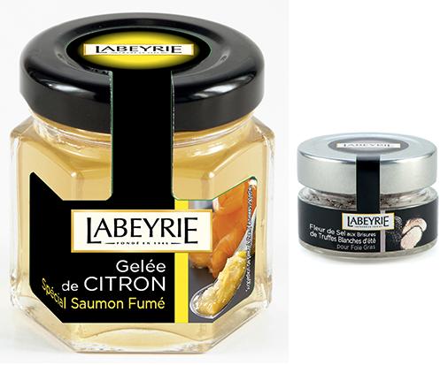 alliance de Foie gras et de Fleur de Sel aux brisures de Truffe Blanche