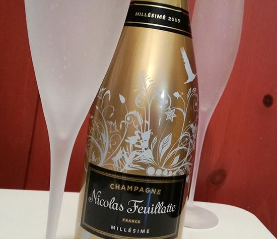 Pour la fin d'année, Nicolas Feuillatte crée Féerie, une édition limitée du Champagne Brut Millésimé 2009.