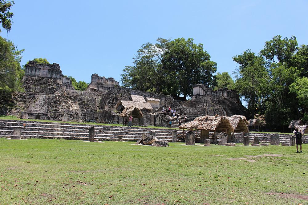 Tikal site Maya