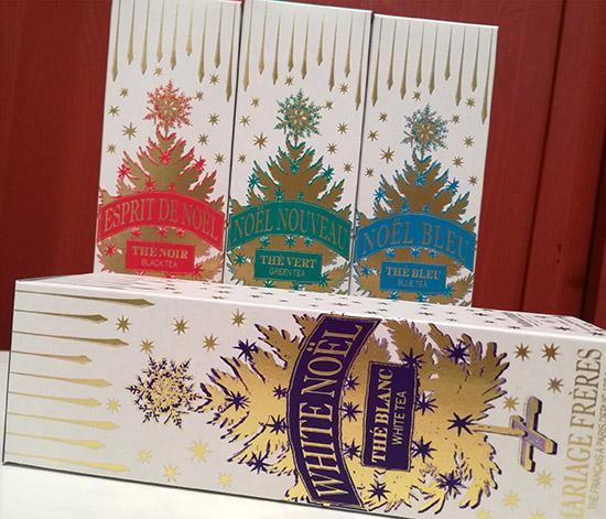Pour célébrer les fêtes de fin d'année en beauté, Mariage Frères lance Noël Haute Couture, une collection de quatre thés festifs en édition limitée.