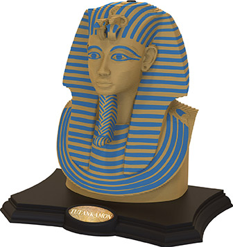 Puzzle Sculpture 3D Tutankhamon