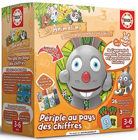 """Jeux électroniques éducatifs """"Les Animalins"""" : les enfants les adorent."""