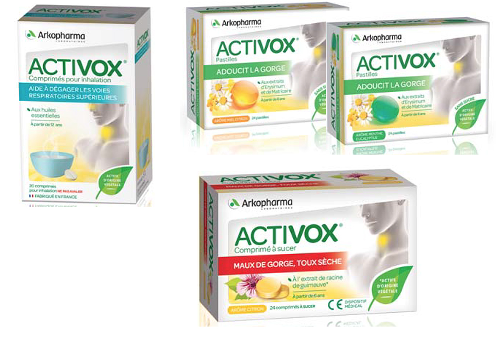 Autres produits de la gamme Activox