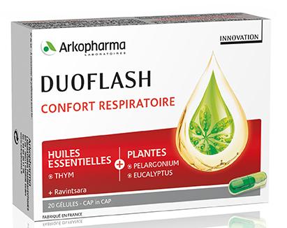 Duoflash aux huiles essentielles et plantes