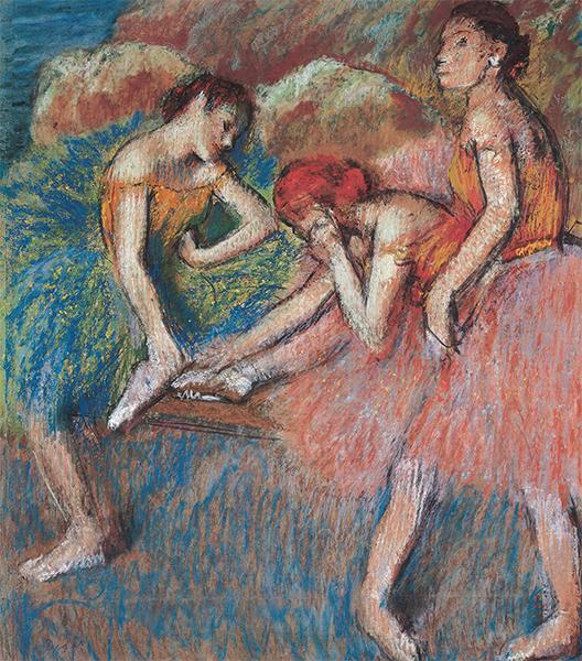 Edgar Degas Danseuses au repos © Giorgio Skory, Romanel-sur-Lausanne