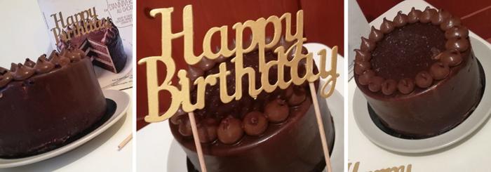 Pour fêter comme il se doit les anniversaires des petits et des grands, Picard propose le Gâteau d'anniversaire au chocolat.