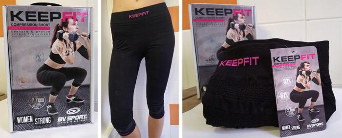 Dans sa gamme 100% féminine Keepfit, BV Sporta conçu uncuissardfavorisant l'accélération de la destruction de la cellulite et le déstockage des graisses.