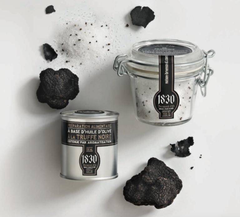 Préparation à base de truffe noire