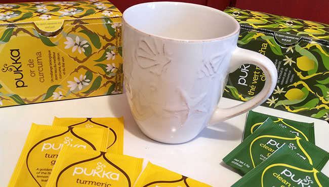 La tisane Or de Curcuma et le thé Vert Matcha Clean dePukkaont été élus meilleurs produits bio 2018.