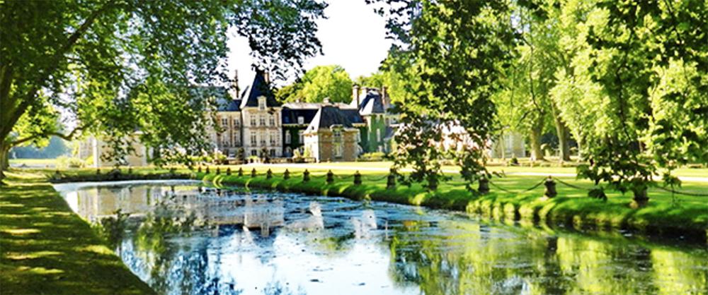 Château de Courances.