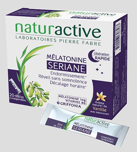 Sériane Mélatonine de Naturactive