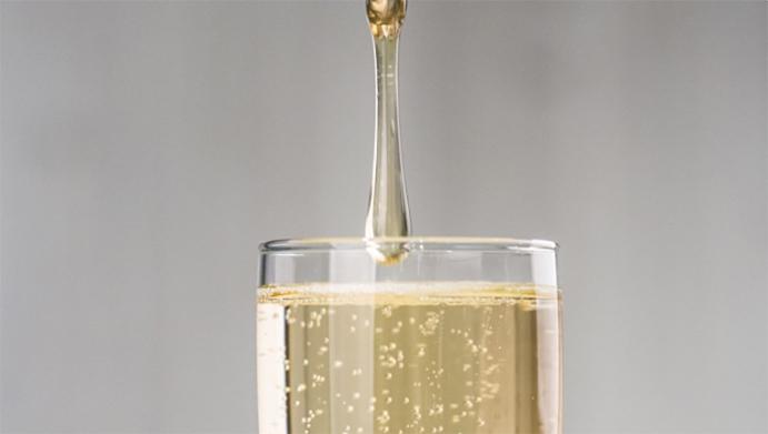 Cocktail Floc de Gascogne, Champagne et Miel des Landes
